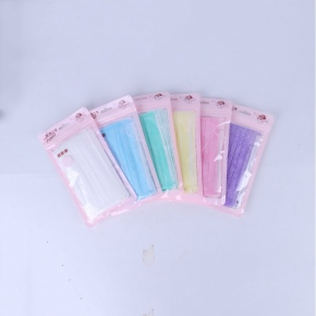 candy Non-woven fabric 3 layer disposable mask 10 pcs/bag