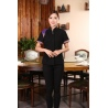 fashion high quality fabric office women shirt uniform