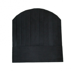 black round top paper disposable chef hat