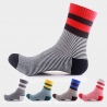 summer casual fashion stripes cotton thin men socks