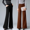 Europe fashion office women trousers flare pant