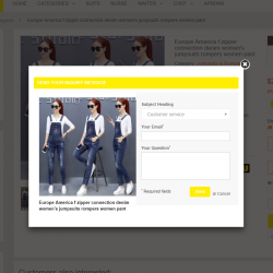 product inquiry / ask a quesion / quote module for prestashop 1.7.x ps1.7 ps 1.6