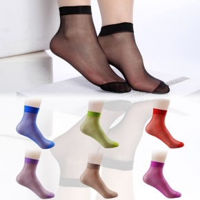 summer cute rulex women socks candy color wholesale