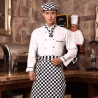 professional hotel chef uniform coat for men and women