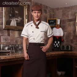 high grade professional kitchen cook uniform