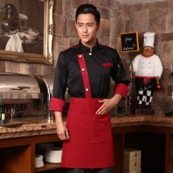 Europe design noble hotel restaurant chef uniform