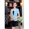 Korea summer short sleeve office work skirt suits