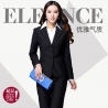 spring long sleeve two buttons classic women suits