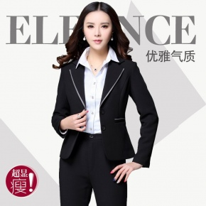 Profession fashion long sleeve women pant suits
