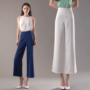 ultra fashion new design casual women wide leg pants