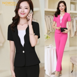 high quality office uniform Korea work skirt suits