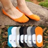 summer thin candy anti-skidding invisible men's socks