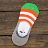 Korea anti slipping bamboo fiber men's slipper socks