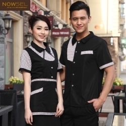 China design personality restaurant waiter uniform