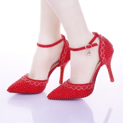 top quality fashion noble women bride shoes young girl party shoes