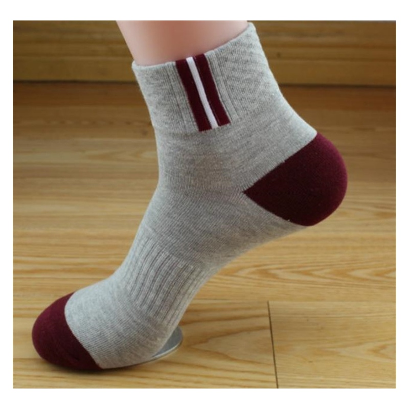 New Design Elastic Knitting Cotton Men Socks Nowsel
