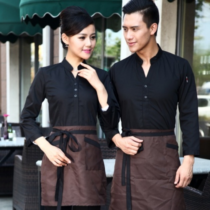 America coffee food service restaurants staff uniform workwear