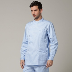 high quality Europe handsome side opening nurse coat