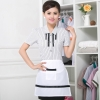 women black stripes shirt + apron