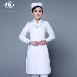 autumn design hospital nurse coat nurse uniform