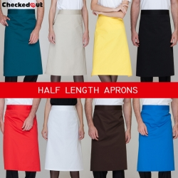 candy color half length high quality chef aprons