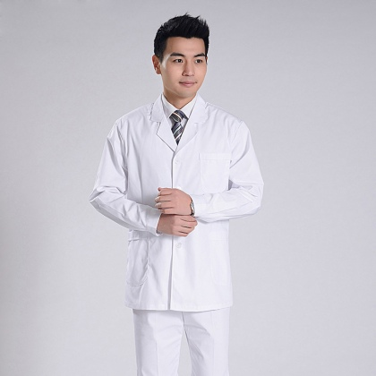 summer front opening male nurse suits uniforms