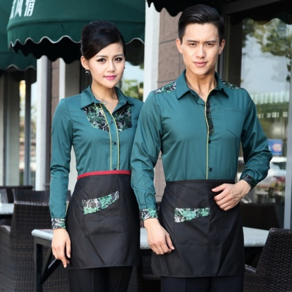 professional conjoint embroidery hotel staff uniform