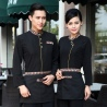 casual Asian style restaurant hotel clerk waiter uniform blouses