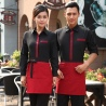 Classic Korea fashion high quality hotel workplace men women shirt uniform