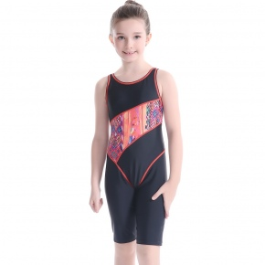 fast drying high quality child girl swimwear