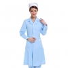 Light Bluefree shipping,solid color long sleeve autumn Nurse suit coat uniform