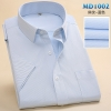 color 2summer men short sleeve office business men shirt