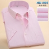 color 3summer men short sleeve office business men shirt