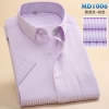 color 6summer men short sleeve office business men shirt