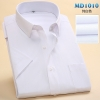 color 9summer men short sleeve office business men shirt