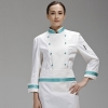 color 2brand long sleeve chef coat uniforms design for female chef