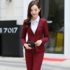 color 1fashion pant suit women business work suits uniforms lady suits