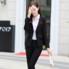 color 2Korea women suit office lady pant suits