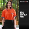 color 1unisex short sleeve summer bar pub waiter waitress women men t-shirt uniform