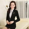 Blackfashion high quality women staff uniform work suits discount BLKE1502