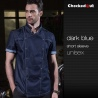 color 1short sleeve denim causal restaurant chief chef uniform working wear
