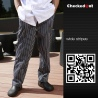 color 4forks printing restaurant chef pant chef trousers uniform