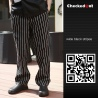 color 5forks printing restaurant chef pant chef trousers uniform
