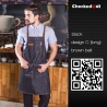 color 20fashion restaurant denim fabric chef apron cafe pub wait staff apron wholesale