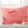 color 6cotton fabric comfortable pillowcase 20 colors 48 x 74 cm