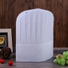 whitehigh quality round top disposable unisex chef hat white 10 pcs/lot