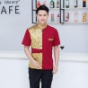 color 4fashion gold ktv bar pub waiter shirt jacket uniform for women and men