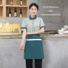 women greenstripes fast food restaurant service staff uniform