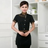 black womenChina uniform customization waiter waitress uniform