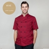 wine short sleevefashion Europe America design short/ long sleeve stand collar men cook coat chef uniform